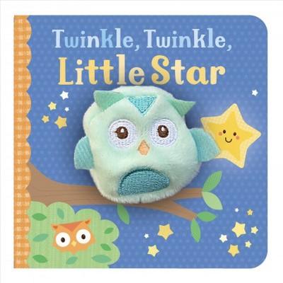 Twinkle, Twinkle, Little Star - (Finger Puppet Board Book)(Board Book)