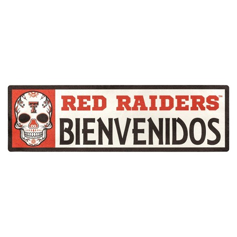 NCAA Texas Tech Red Raiders Outdoor Bienvenidos Step Decal - image 1 of 1