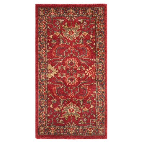 Boyd Floral Loomed Accent Rug - Safavieh - image 1 of 3