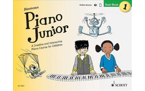 Piano Junior Duet : A Creative and Interactive Piano Course for Children (Vol 1) (Paperback) - image 1 of 1