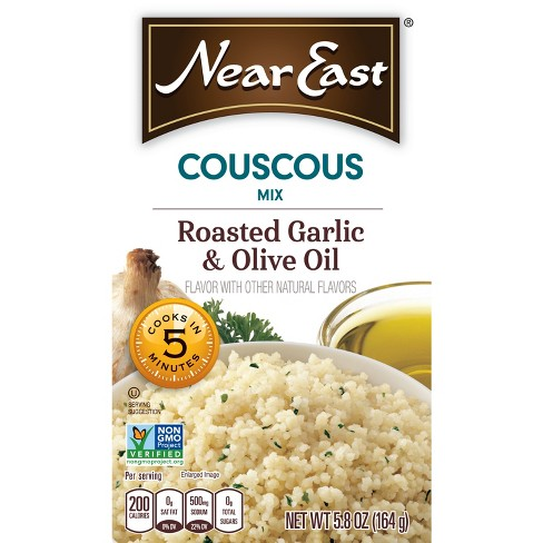 Near East Mix Roasted Garlic & Olive Oil Couscous - 5.8oz - image 1 of 4