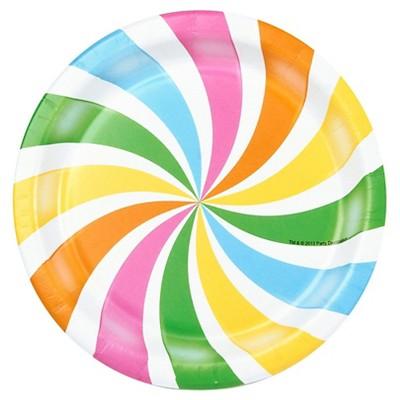 8ct Candy Shoppe Dessert Plate