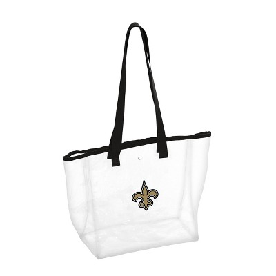 NFL New Orleans Saints Stadium Clear Tote