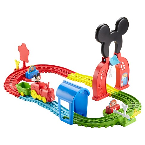 Fisher-Price Disney Mickey Mouse Clubhouse Mouska Train Express Playset - image 1 of 11