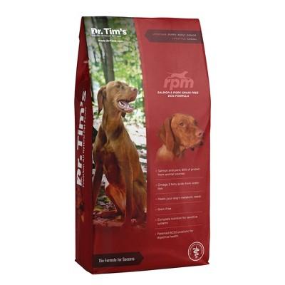 Dr. Tim's RPM Grain Free Salmon & Pork Premium Dry Dog Food
