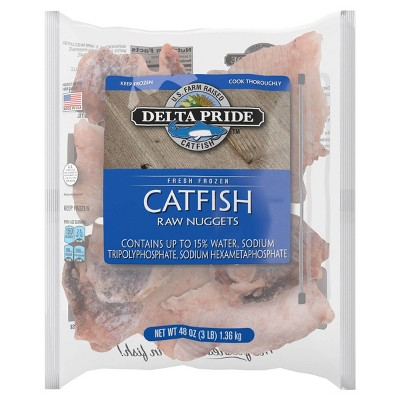 Delta Pride Catfish Nuggets - Frozen - 48oz