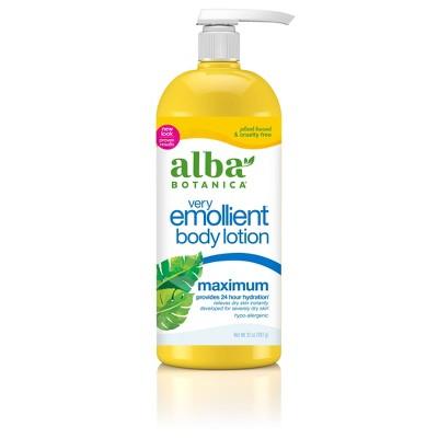 Alba Very Emollient Maximum Body Lotion 32oz