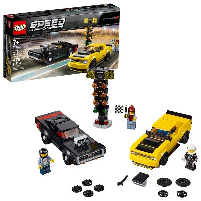 LEGO Speed Champions 2018 Dodge Challenger SRT Demon and 1970 75893