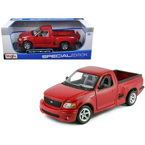 Ford Svt Lightning >> Ford F 150 Svt Lightning Red Diecast Car Model 1 21 By Maisto Target