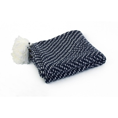 Tarlestown Throw Blanket Blue - Décor Therapy