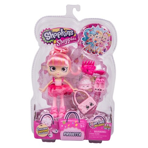 Shopkins™ Shoppies Doll - Pirouetta - image 1 of 5
