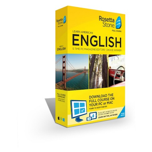 Rosetta Stone American English Home/office Software - image 1 of 1