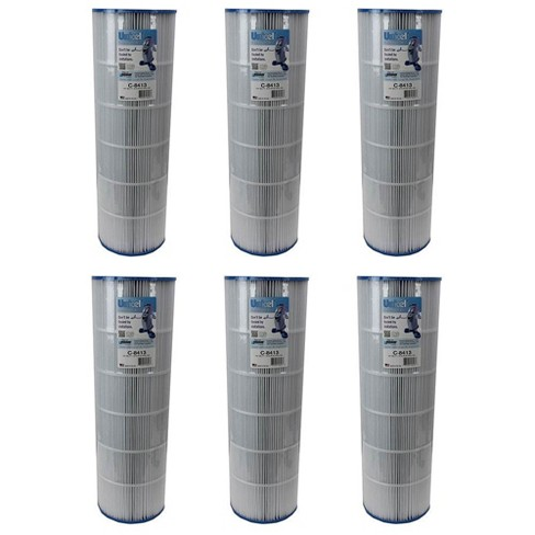 Unicel C-8413 Pool Spa Replacement Cartridge Filter 125 Sq Ft Sta-Rite (6 Pack) - image 1 of 4