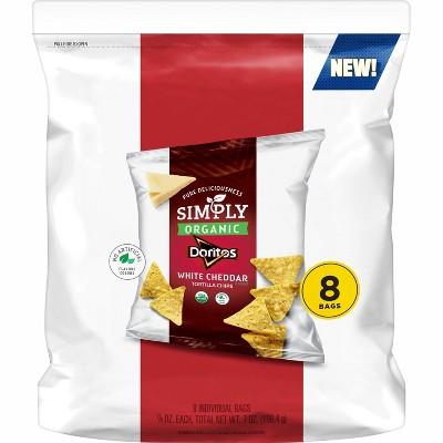 Simply Doritos White Cheddar 8ct