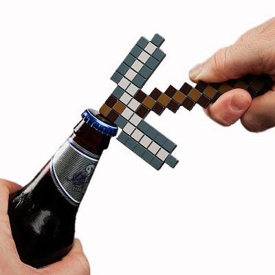 ThinkGeek, Inc. Minecraft Pickaxe Bottle Opener