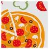 2pk Pizza Party Kitchen Towel White/Orange - Mu Kitchen - image 2 of 3