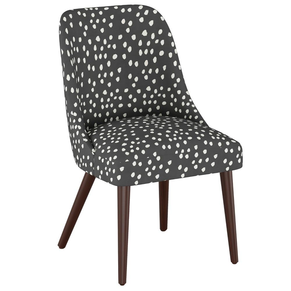 Geller Modern Dining Chair Scribble Dot Dark Gray - Project 62