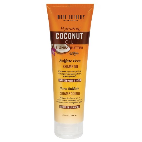 Marc Anthony® Hydrating Coconut Oil & Shea Butter Sulfate Free Shampoo - 8.4 fl oz - image 1 of 1