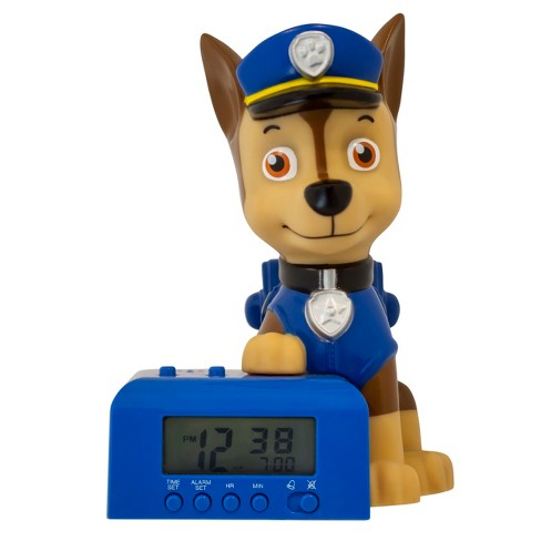 PAW Patrol® Chase Blue Alarm Clock - image 1 of 5
