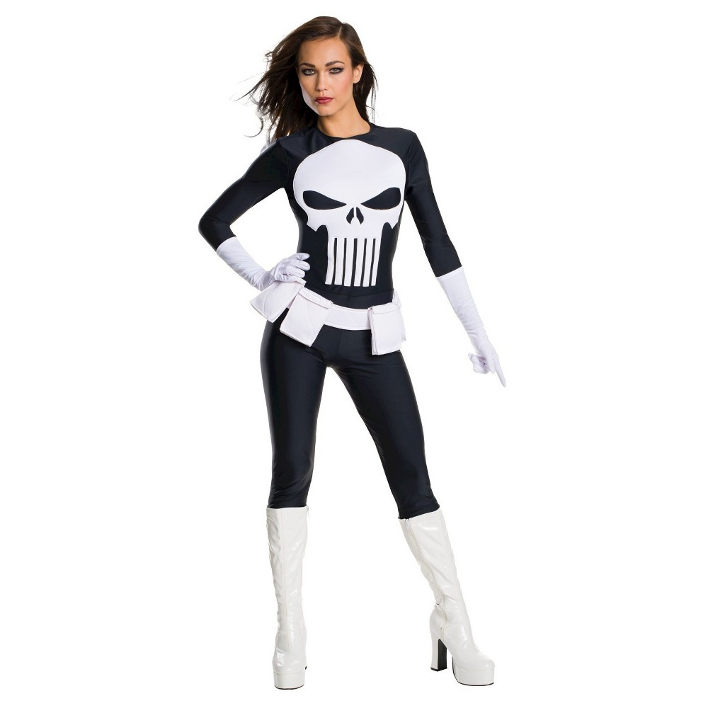 Punisher Secret Wishes Women's Costume X-Small, Size: XS, Multicolored