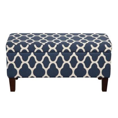 Drake Large Decorative Storage Bench – HomePop