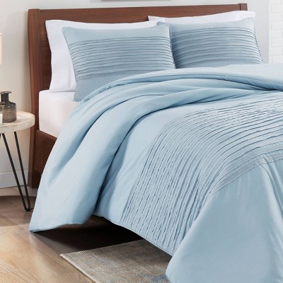 Vue Full/Queen 3pc Shawna Comforter & Sham Set Blue