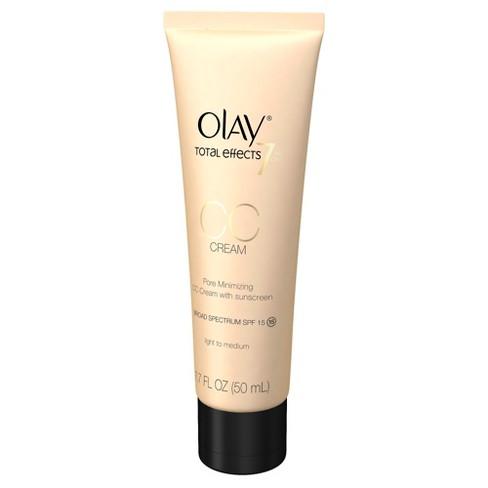 Olay Total Effects Pore Minimizing CC Cream Light to Medium -1 7 oz