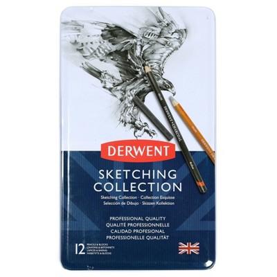 Sketching Pencil Collection Tin - Derwent