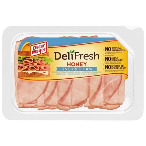 Oscar Mayer Deli Fresh Honey Ham - 9oz - image 1 of 4