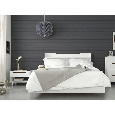 3pc Queen Snooze Bedroom Set White - Nexera