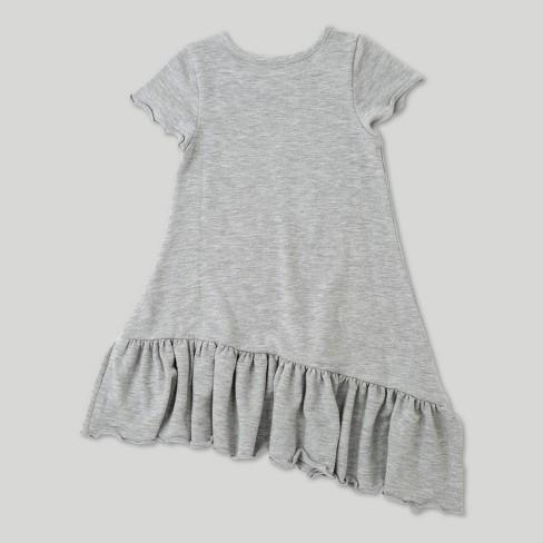 3de53bbe88a Toddler Girls  Afton Street Short Sleeve A Line Dress - Heather Grey    Target