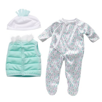 """Perfectly Cute Snow Day 3pc Outfit - for 14"""" Dolls"""