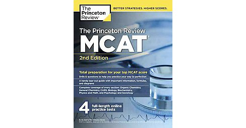 Princeton Review MCAT (Paperback) - image 1 of 1