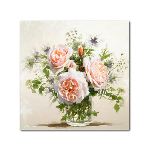 Macneil Studio Old Roses Unframed Wall Canvas Art - image 1 of 2