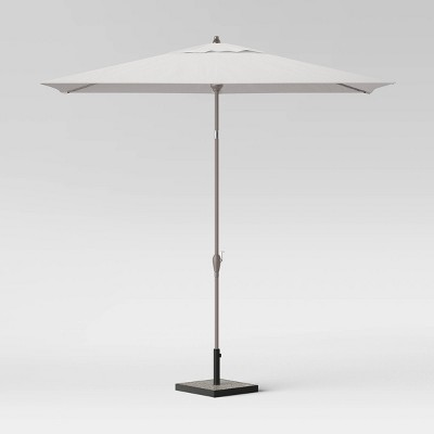10' Rectangular Patio Umbrella Smoke Greige Pole - Project 62™