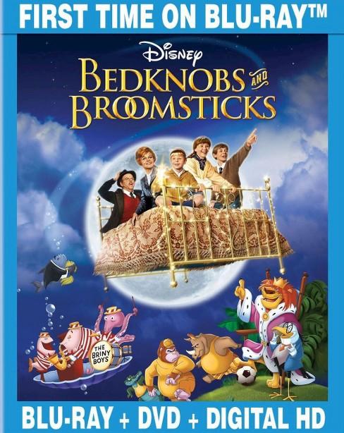 Bedknobs And Broomsticks 2 Discs Blu Ray Dvd Target