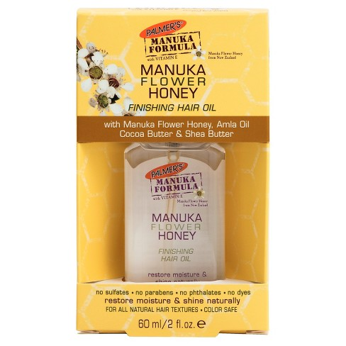 Palmers Manuka Flower Honey Finishing Hair Oil - 2 fl oz - image 1 of 1