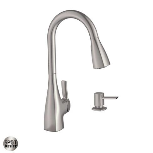 Moen 87599 Pullout Spray High-Arc Kitchen Faucet