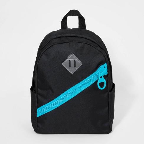 Kids' Giant Zipper Backpack  - Cat & Jack™ Black - image 1 of 2