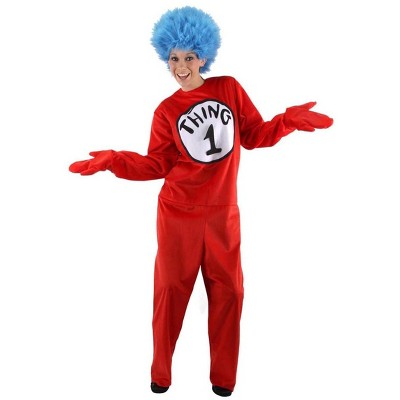 Elope Dr. Seuss Thing 1 & 2 Costume Adult