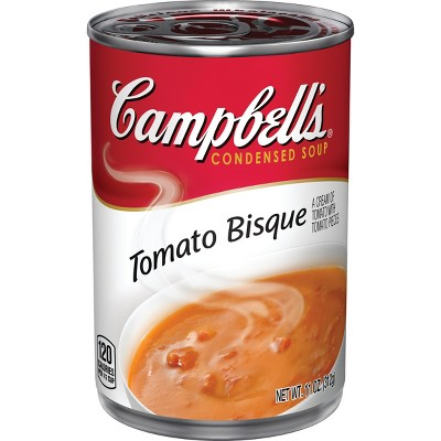 Campbell's Condensed Tomato Bisque Soup - 11oz