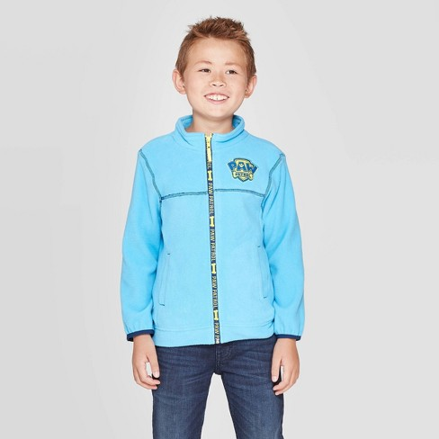 Boys' Paw Patrol Fleece Jacket - Turquoise - image 1 of 3