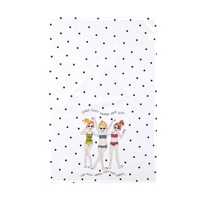 C&F Home Just Want To Have Fun Kitchen Towel