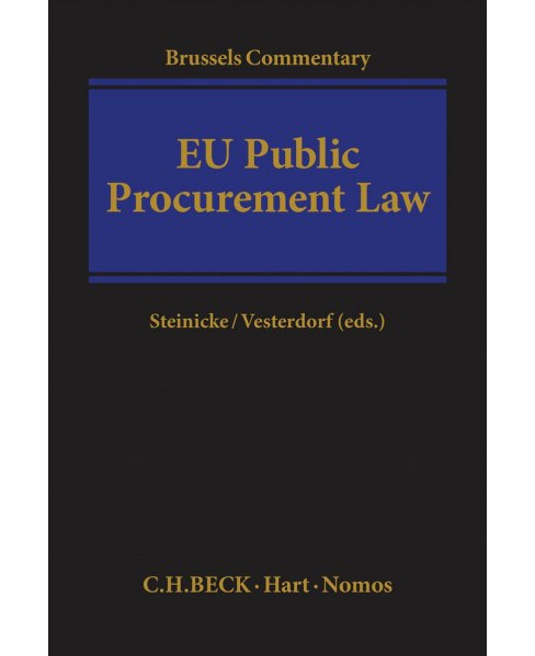 Brussels Commentary on Eu Public Procurement Law -  (Hardcover) - image 1 of 1