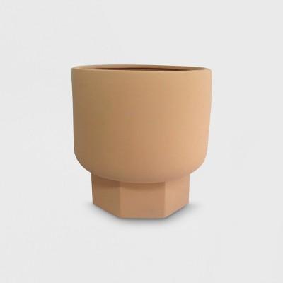 12  Hexagon Stoneware Planter Terracotta - Project 62™