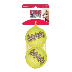 KONG SqueakAir Tennis Ball Dog Toy - Yellow - L - 2ct