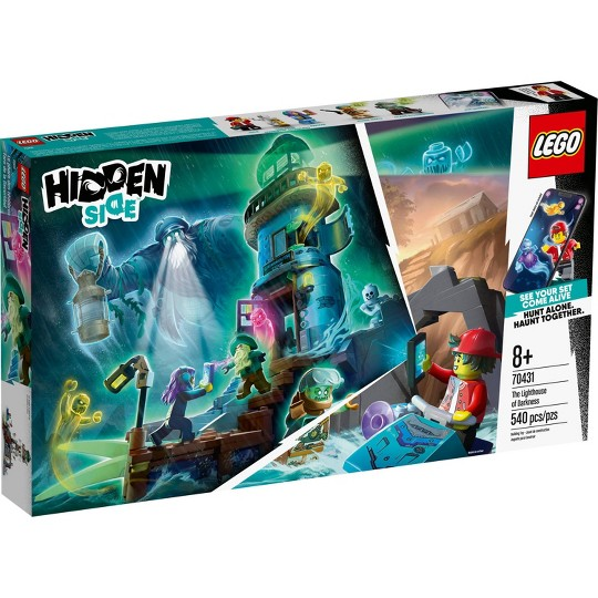 LEGO Hidden Side The Lighthouse of Darkness 70431 Awesome AR Ghost Hunting Toy image number null