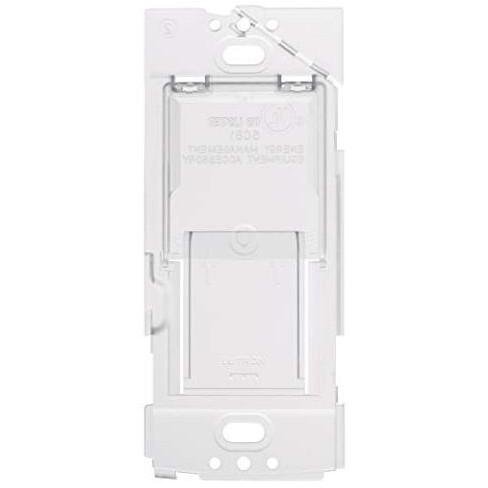 Lutron Caseta Wireless Wallplate Bracket for Pico Remote | PICO-WBX-ADAPT | Translucent. - image 1 of 4