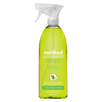 Method Cleaning Products APC Lime + Sea Salt Spray Bottle 28 fl oz