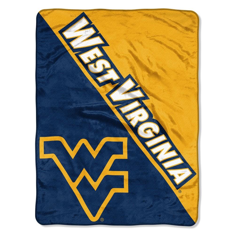 NCAA West Virginia Mountaineers Micro Fleece Throw Blanket